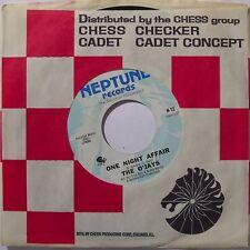 O'JAYS: ONE NIGHT AFFAIR soul FUNK 45 on NEPTUNE VG++ northern HEAR IT!