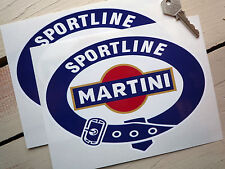 MARTINI SPORTLINE  200mm racing sticker Porsche Lancia
