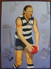 Gary Ablett Senior Limited Edition Large Print with Original Full Signature