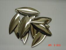 blades 24 ct/silver willow leaf blades #41/2 size