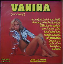 JEAN LUC FERRE SON ORCHESTRE  VANINA SEXY CHEESECAKE COVER FRENCH LP