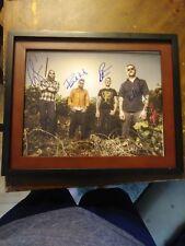 Mastodon Heavy Metal Rock Musicians Band Signed 11x14 Framed Photo Music