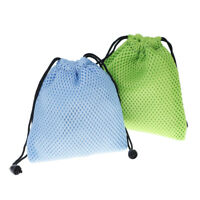 1 PC Soft mesh bag storage bag for magic cube blue / green for choo3C