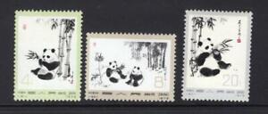 China, PR 1973 Partial Panda Set - OG MNH - SC# 1108-09,1112  - No Reserve!