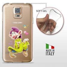 Samsung Galaxy S5 TPU CASE COVER PROTETTIVA GEL TRASPARENTE Disney Cucciolo