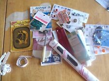 Vintage Lot Of Sewing Notions, Buttons Etc -