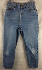 LL BEAN Natural Fit High Waist Straight Leg Denim Jeans Women's Size 10 X 28.5