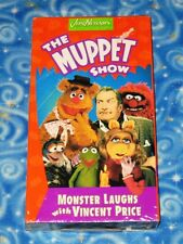 The Muppet Show Monster Laughs with Vincent Price VHS Video Tape New Sealed