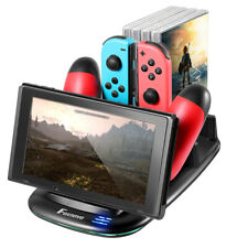 USB Charging Stand Charger Dock for Nintendo Switch Wireless Game Controller AU