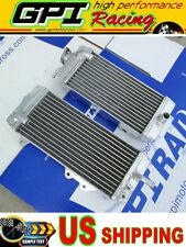 Aluminum radiator KAWASAKI KXF250 KX250F KX 250F 2011-2016 2012 2013 2014 2015