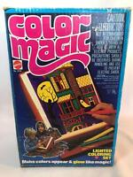 Vintage Mattel Color Magic Lighted Coloring Set with Box 1978