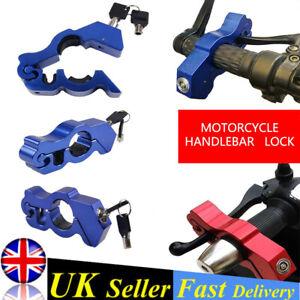 THROTLOCK MOTORBIKE/MOTORCYCLE/MOPED HANDLEBAR THROTTLE BRAKE GRIP LOCK BLUE