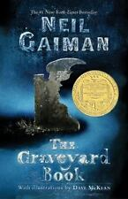 The Graveyard Book by Neil Gaiman for young readers hardcover book FREE SHIPPING