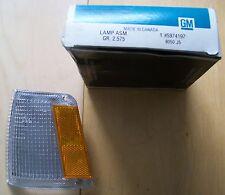 5974197 front side marker lamp LH 1986 Chevrolet Celebrity