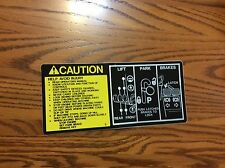 318 John Deere fender deck  Decal ,420,322,332,316