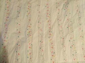 2 Gardinenschals - IKEA - weiß rosa bunt Muster Punkte Konfetti - Kind Mädchen