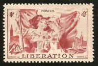 WWII LIBERATION OF FRANCE & RETURN OF ALSACE & LORRAINE HISTORIC MINT STAMP 1945