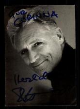 Robert Atzorn  Autogrammkarte Original Signiert # BC 82623
