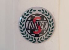18mm  Resin 3D Cooper S  Sticker Badge - Cooper Mini