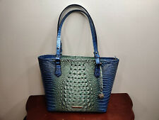 NWT New Brahmin Handbag Medium Misha Tote in Haven Ombre Melbourne Style