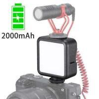 ULANZI VL49 Mini LED Video Light Built-in Battery 49 Phone Lamps C Fill LED P6O0