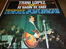 """Trini Lopez LP """"Live At Basin St. East"""" on Reprise in EX condition"""