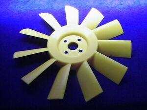 CLASSIC MINI 11 BLADE YELLOW PLASTIC COOLING FAN 12G2129