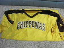 Central Michigan Chippewas Basketball Warm Up Shirt  3XL Game Worn Issued