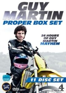 Guy Martin Proper Collection Wall of Death Speed Vulcan Bomber India New R4 DVD
