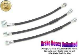 BRAKE HOSE SET Plymouth Gran Fury 1980 1981
