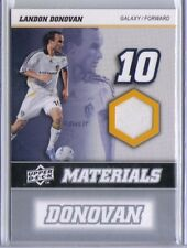 Landon Donovan 2008 Upper Deck UD MLS Materials Game Used Jersey MM-18 LA Galaxy