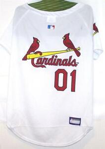 COSTUME Animal Welfare League MLB Baseball ST. LOUIS CARDINALS PET JERSEY XXL