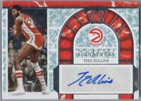 Tree Rollins Auto KS-TRL 2018-19 Keystone Signatures 18/49 ATL Hawks Legend