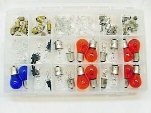 Stock 12v Bayonet Parking Light Brake Light Instrument Panel Light Bulbs Ford