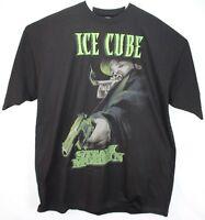 Ice Cube Steady Mobbin Blunt Lench Mob Black T-Shirt New