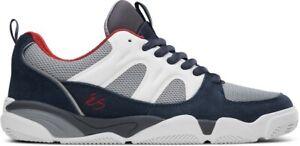 eS SILO Skate Shoes NAVY WHITE GREY