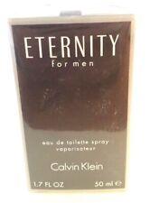 Calvin Klein Eternity Eau de Toilette Spray for Men 1.7 Oz NIB