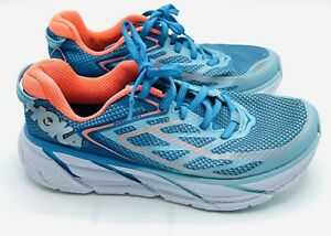 Hoka One One Clifton 3 F27216G Women Running Trainers Shoes Blue Size 5 Uk 🇬🇧