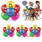 """10 X Paw Patrol Printed Latex Balloons 12"""" Birthday Party Decorations Supplies"""