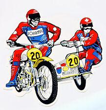 Motocross Seitenwagen Aufkleber Sticker  MX