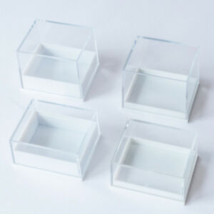 Clear Top Plastic Low High Dome Earring Collectables Display 2000Boxes WHOLESALE