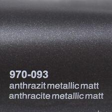 ( 18,41€/m ²) 0,5m m x 1 , 52m Oracal 970ra antracita metálico mate 093