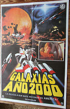 Used - Cartel de Cine  GALAXIAS AÑO 2000 Vintage Movie Film Poster - Usado