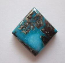 23.10 ct Natural High Grade Bisbee Turquoise Cabochon Gemstone # DR 105