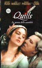 Quills. La penna dello scandalo (2001) VHS  Fox  Video Kate Winslet   - rara