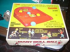 VINTAGE Marx Toys THE GIANT SKILL BALL GAME WITH BOX!