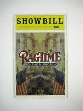 Ragtime the Music Showbill June 1999 Ford Arts Theatre Alton White LaChanze