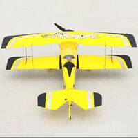 Dynam RC Airplane Aerobatics Pitts Model 12 Yellow 1070mm Wingspan -PNP