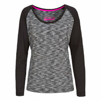 Trespass Womens Long Sleeve Tshirt Gym Top Active Workout Causal  Miso