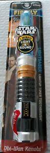 Disney Firefly Darth Vader Lightsaber Toothbrush Blue  Obi Wan Kenobi